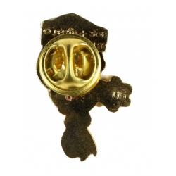 Pin's de Yakari du buste d'Arc-en-ciel Version dorée (Casterman 92)
