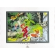 Poster Offset Tome & Janry Spirou and Fantasio in the jungle (80x60cm)