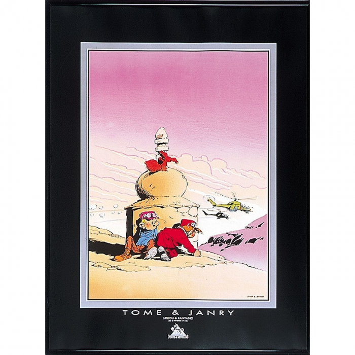 Poster Offset Tome & Janry Spirou and Fantasio in the Tibet (60x80cm)
