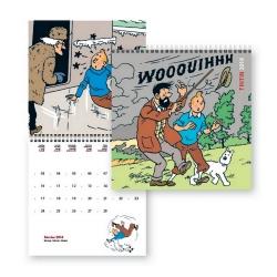 Calendrier 2014 Les Aventures de Tintin 30x30cm (24300)