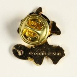 Pin's Yakari Double Teeth Golden Version (Casterman 92)