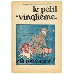 Figurine de collection en résine Tintin et Milou ils arrivent !! 21cm (2017)