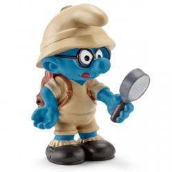 Figurine Schleich® Les Schtroumpfs - Schtroumpf à lunettes de la jungle (20778)