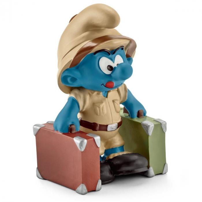 Figurine Schleich® Les Schtroumpfs - Schtroumpf de la jungle explorateur (20780)