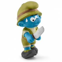 The Smurfs Schleich® Figure - The Jungle Smurf, adventurer (20782)