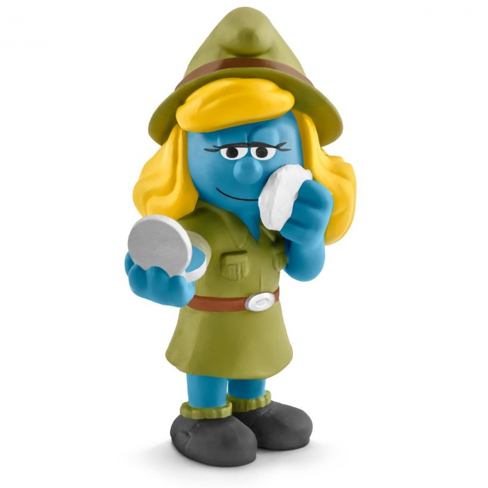 The Smurfs Schleich® Figure - The Jungle Smurfette (20776)