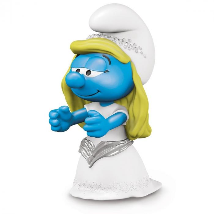Figura Schleich® Los Pitufos - La Pitufina novia (20799)