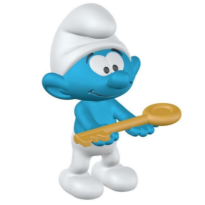 The Smurfs Schleich® Figure - The Smurf with key (20795)