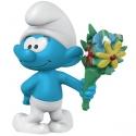 Figura Schleich® Los Pitufos - El Pitufo con con ramo de flores (20798)