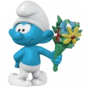 Figurine Schleich® Les Schtroumpfs - Schtroumpf avec bouquet de fleurs (20798)