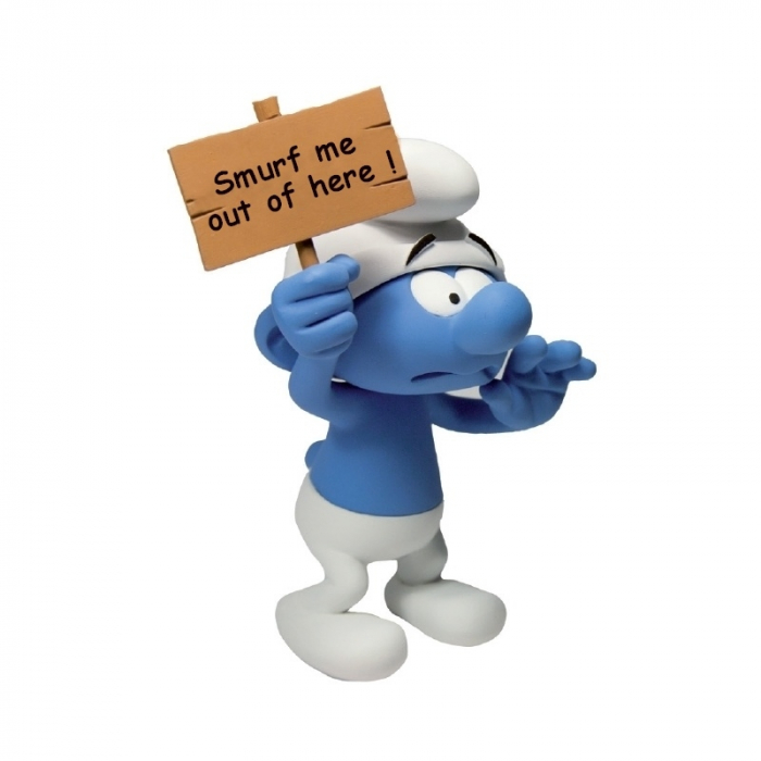 Collectible Figurine Fariboles The Smurfs: The Smurf SOS EN (2013)
