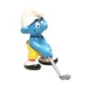 Figura Schleich® Los Pitufos - El Pitufo jugador de golf (20055)