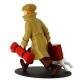 Figura de colección en resina Tintín y Milú ils arrivent !! 21cm (2017)