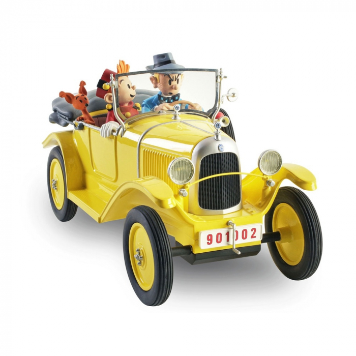 The Citroën 5 HP trèfle car Spirou and Fantasio Figures et Vous - GF11 (2017)