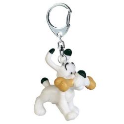 Porte-clés figurine Plastoy Astérix Idéfix avec son os 60403 (2015)