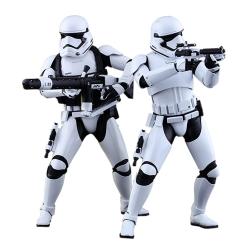 Figuras de colección Hot Toys Star Wars First Order Stormtroopers 1/6 (902537)