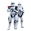 Set de figuras Hot Toys Star Wars First Order Stormtrooper Officer 1/6 (902604)