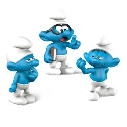 Set de trois figurines Schleich® Les Schtroumpfs du film 1 (20800)