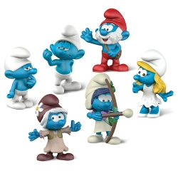 The Smurfs Schleich® Figures Movie Set 3 (20802)