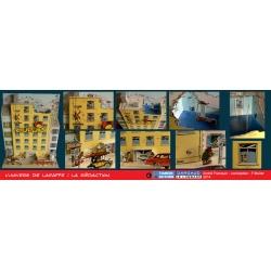 Collectible diorama Toubédé Editions Gaston Lagaffe: The editorial staff (2017)