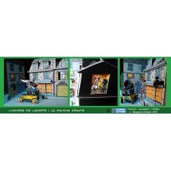 Collectible diorama Toubédé Editions Gaston Lagaffe: The Fly (2016)