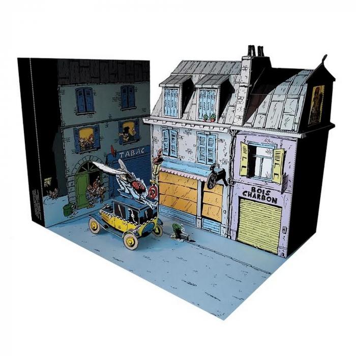 Diorama de colección Toubédé Editions Tomás el Gafe: La mosca (2016)