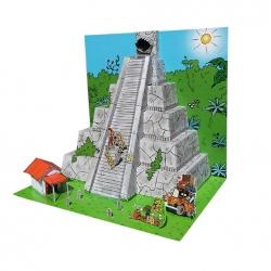 Diorama de colección Toubédé Editions Marsupilami: La pirámide (2016)