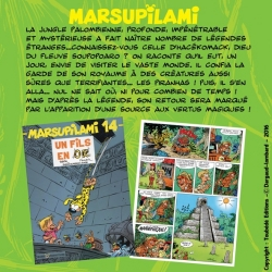 Collectible diorama Toubédé Editions Marsupilami: The Pyramid (2016)