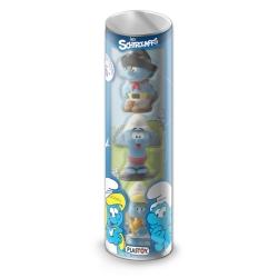 Series Tube of 3 figures Plastoy The Smurfs Eveil 60846 (2017)