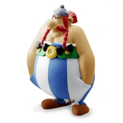 Collectible figure Plastoy Astérix Obélix hands in the pockets 60568 (2017)