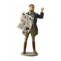Figura de colección Pixi Blake y Mortimer, Mortimer con el periódico 5196 (2017)