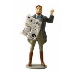Figurine de collection Pixi Blake et Mortimer avec le journal 5196 (2017)