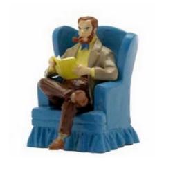 Figurine de collection Pixi Blake et Mortimer dans son fauteuil 5199 (2017)