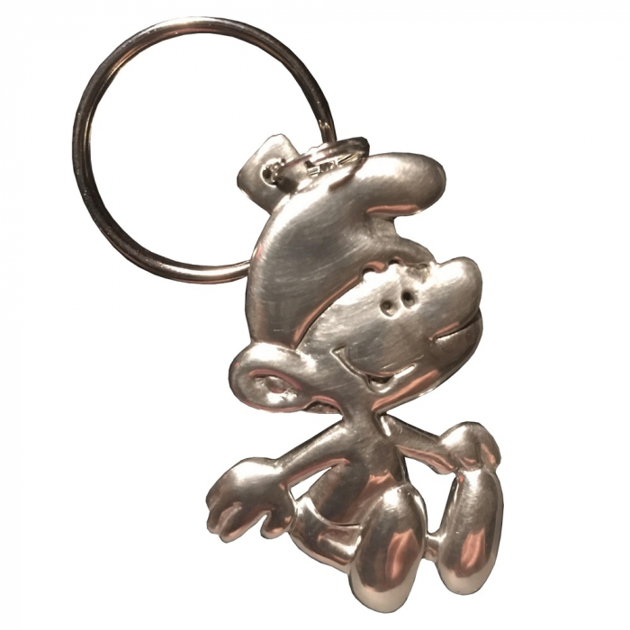 Porte-clés de collection Les étains de Virginie Le Schtroumpf Vintage (2017)