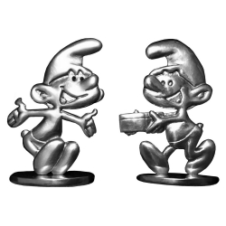 Figurines de collection Les étains de Virginie Les Schtroumpfs Vintage (2017)