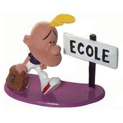Figurine de collection Pixi Titeuf allant à l'école 5854 (2003)