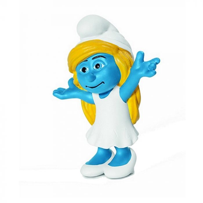 The Smurfs Schleich® Figure - Smurfette raising up arms (20755)