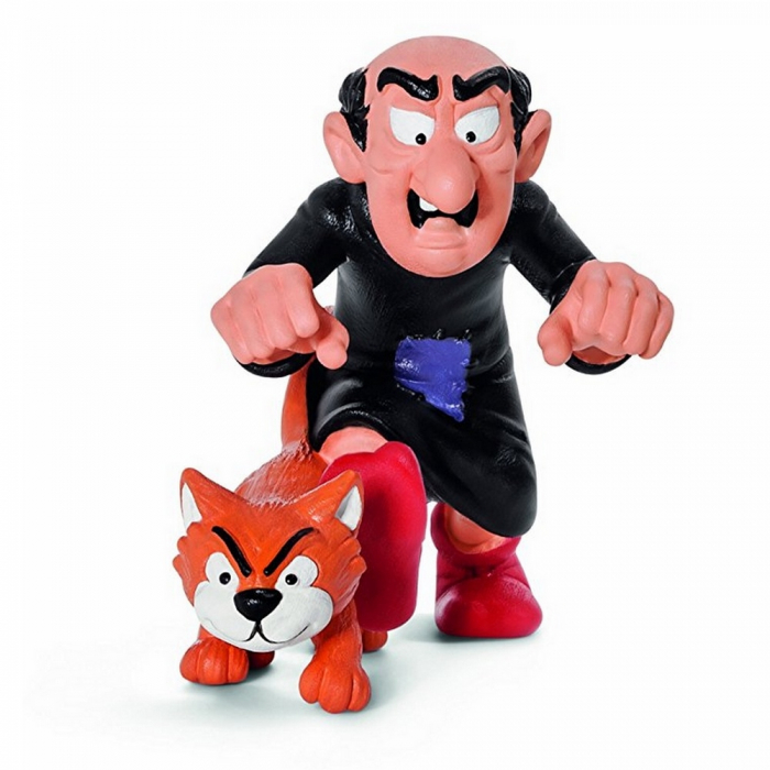 The Smurfs Schleich® Figure - Gargamel and Azraël (20759)