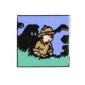 Pin's de Tintín y el hombre Leopardo Corner (Nº251)