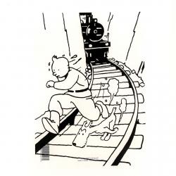 Carpeta dossier A4 Las aventuras de Tintín en el país de los soviets (15146)