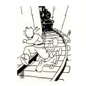 Pochette plastique A4 Les Aventures de Tintin au pays des Soviets (15146)