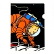 A4 Plastic Folder The Adventures of Tintin on the moon (15124)
