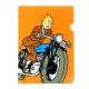 Carpeta dossier A4 Las aventuras de Tintín en moto (15113)