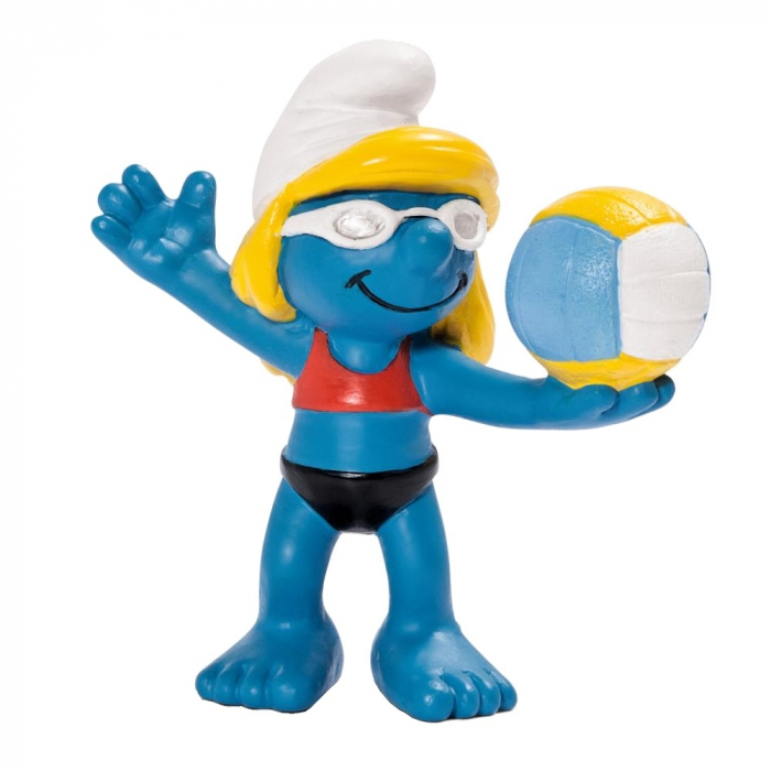 The Smurfs Schleich® Figure - The Smurf volleyball player (20738)