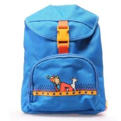Sac à dos pour enfants en tissu Tintin et Milou Le Temple du soleil (24x15x30cm)