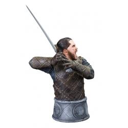 Busto de colección Dark Horse Game of Thrones: Jon Nieve (Jon Snow)