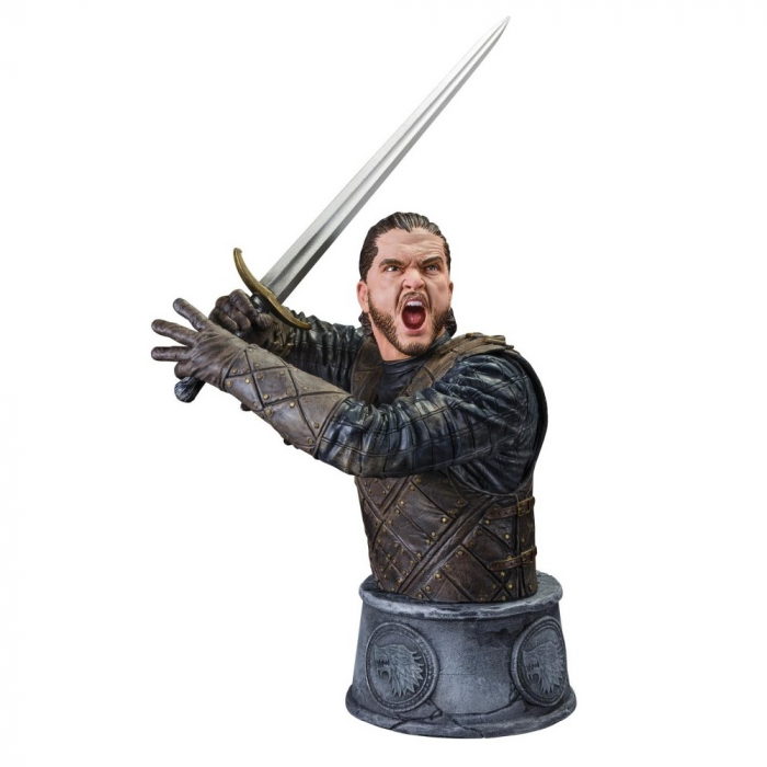 Busto de colección Dark Horse Game of Thrones: Jon Nieve (Jon Snow)