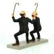 Collectible figure Moulinsart Fariboles Tintin Thomson and Thompson 44020 (2017)
