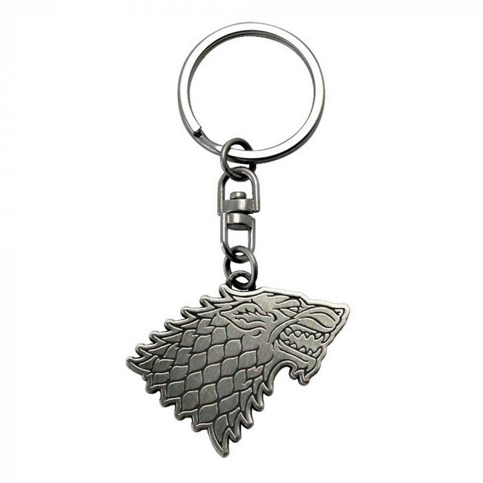 Llavero de colección ABYstyle Game of Thrones (Logo Stark)