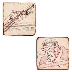 Cofre colección placas de mármol Blake y Mortimer El secreto del Espadón 1